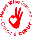Heart Wise Exercise Logo